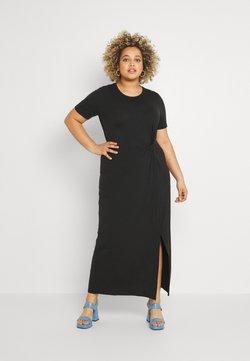 Vero Moda Curve - VMAVA LULU ANCLE DRESS - Maxikleid - black