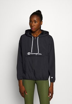 Champion - HALF ZIP - Windbreaker - black