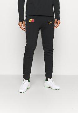 Nike Performance - GALATASARAY ISTANBUL PANT - Vereinsmannschaften - black/vivid orange