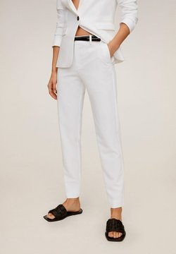 Mango - BOREAL6 - Pantalon de costume - weiß