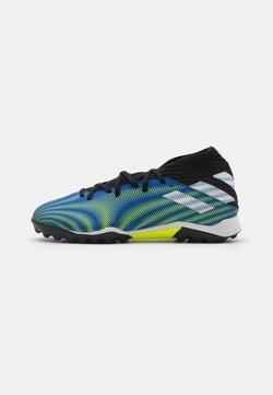 adidas Performance - NEMEZIZ .3 TF - Astro turf trainers - royal blue/footwear white/solar yellow