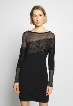 Patrizia Pepe - ABITO/DRESS - Shift dress - nero