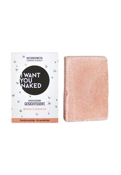 I WANT YOU NAKED - FACE SOAP - Seife - meersalz & sheabutter