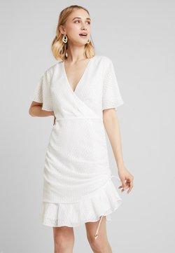 Keepsake - INSIGHT MINI DRESS - Day dress - ivory