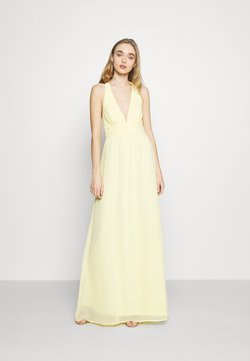 Nly by Nelly - LOVEABLE CROSS BACK GOWN - Robe de cocktail - light yellow
