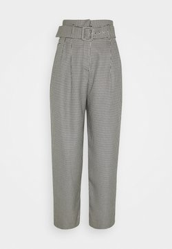 EDITED - KATE TROUSERS - Stoffhose - black/off-white