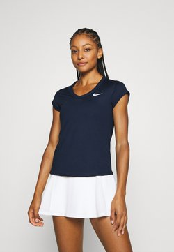 Nike Performance - DRY - T-shirt basic - obsidian/white