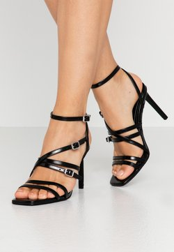 ONLY SHOES - ONLALYX  - High Heel Sandalette - black