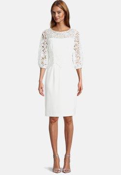 Vera Mont - MIT SPITZE - Cocktailkleid/festliches Kleid - ivory white