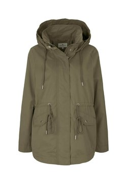 TOM TAILOR - MIT KAPUZE - Parka - covert khaki