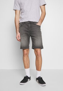 Lee - RIDER - Jeansshort - back denim