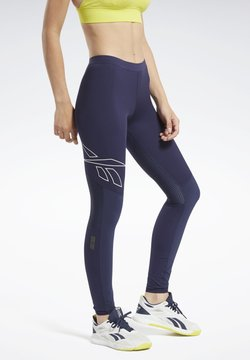 Reebok - UNITED BY FITNESS COMPRESSION TIGHTS - Tights - blue