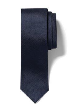 Calvin Klein - SLIM TEXTURED - Krawatte - midnight