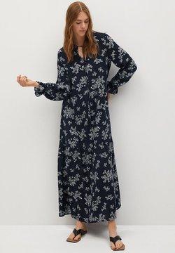 Mango - Długa sukienka - marineblau