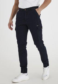Blend - BHNAN PANTS NOOS - Cargo trousers - dark navy blue
