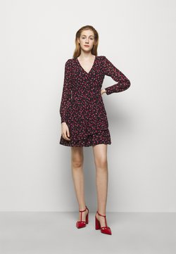 MICHAEL Michael Kors - FLORAL PRINTED MINI DRESS  - Freizeitkleid - berry