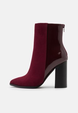 Even&Odd - High heeled ankle boots - bordeaux