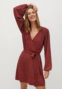 Mango - LINUS - Cocktailkleid/festliches Kleid - rød