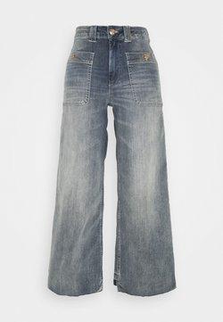 Mos Mosh - COLETTE IDA - Flared Jeans - blue