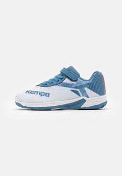 Kempa - WING 2.0 JUNIOR UNISEX - Håndboldsko - white/steel blue