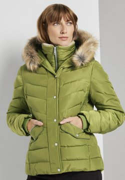 TOM TAILOR - Winterjacke - wood green