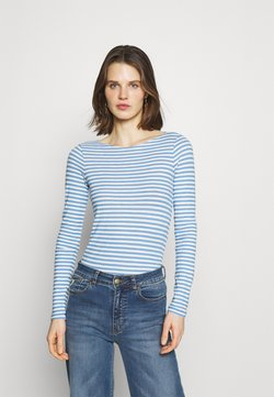 Marc O'Polo - LONG SLEEVE - Langarmshirt - washed cornflower