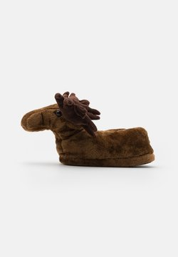 Loungeable - MOOSE SLIPPER - Hausschuh - brown