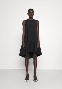 Victoria Victoria Beckham - FLOUNCE HEM SHIFT DRESS - Juhlamekko - black