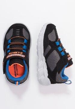 Skechers - MAGNA LIGHTS - Sneaker low - black/gray/orange/blue