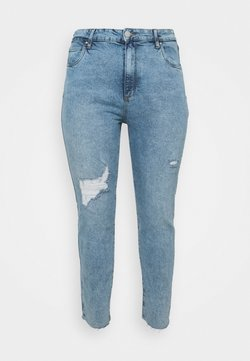 Cotton On Curve - TAYLOR MOM - Relaxed fit jeans - aireys blue rip