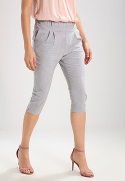 Kaffe - JILLIAN CAPRI PANTS - Shorts - light grey melange