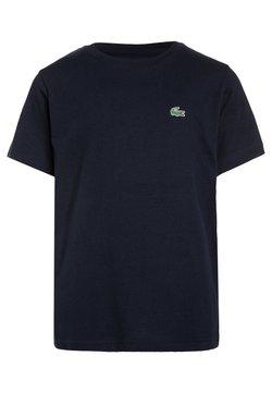 Lacoste Sport - LOGO UNISEX - T-Shirt basic - navy blue