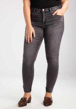 Zizzi - AMY LONG - Jeans Skinny Fit - dark grey denim