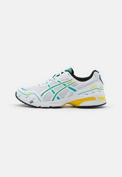 ASICS SportStyle - GEL-1090 UNISEX - Sneaker low - white/techno cyan