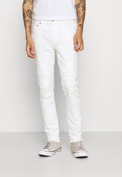 American Eagle - Slim fit jeans - white