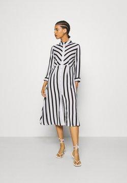 YAS - YASSAVANNA  - Blusenkleid - black/white