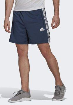 adidas Performance - DESIGNED TO MOVE SPORT 3-STREIFEN  - kurze Sporthose - blue