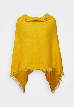 Repeat - PONCHO - Cape - sunflower