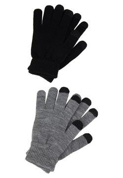 Even&Odd - 2 PACK - Fingerhandschuh - black/grey