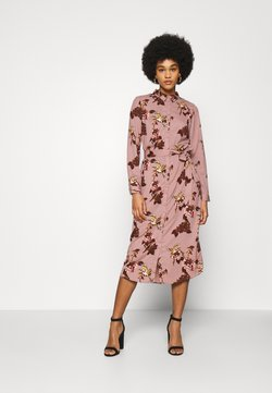 Vero Moda - VMCRANE DRESS - Shirt dress - woodrose