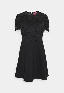 kate spade new york - BODICE PONTE DRESS - Vapaa-ajan mekko - black