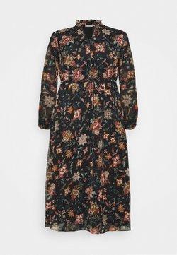 ONLY Carmakoma - CARKRITI DRESS - Vapaa-ajan mekko - blue graphite