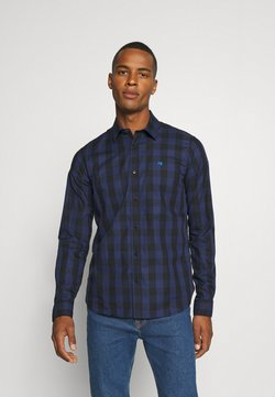 Scotch & Soda - REGULAR FIT- CLASSIC CHECK  - Chemise - dark blue/black