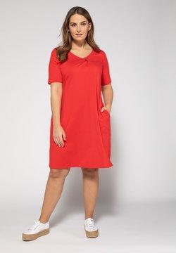 Ulla Popken - Jerseykleid - red