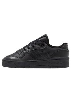 adidas Originals - RIVALRY - Sneakers laag - core black/footwear white