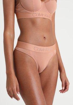 Calvin Klein Underwear - THONG - Stringi - beige