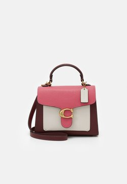 Coach - COLORBLOCK TABBY TOP HANDLE - Torebka - confetti pink/multi