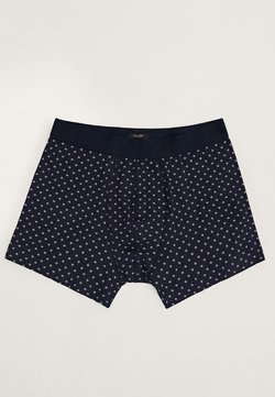 Massimo Dutti - MIT PRINT - Shorty - dark blue