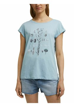 edc by Esprit - T-Shirt print - light blue