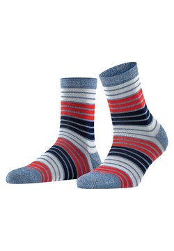 Burlington - Socken - steelblue